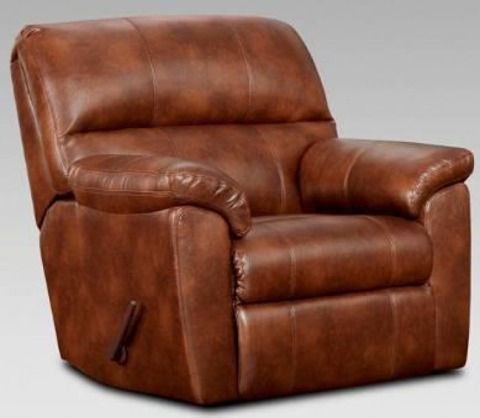 Fat Daddy s Furniture 1450 Wyoming Saddle Chaise Rocker